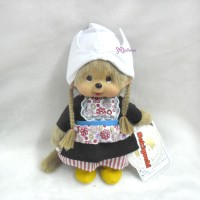 276400 Sekiguchi Monchhichi Plush 20cm MCC National Dutch Girl