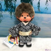 787746 Monchhichi S Size Plush Japanese Kimono Boy  ~~ Japan Limited ~~