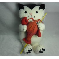 Jacob Cat 25cm Stuffed Plush - Enjoy Fishing Lobster JC25126B