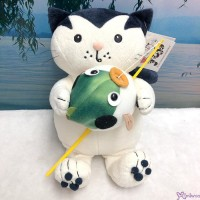 Jacob Cat 25cm Stuffed Plush - Playing with Fish  JC25124B
