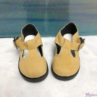 MSD 1/4 bjd Obitsu 60cm Doll Shoes Velvet Maryjane Brown SHM054BRN