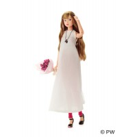 1121041 Petworks CCS 21SP Momoko Brown Long Hair Girl Doll