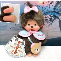 Monchhichi 45th Anniversary Happy Trip S Size Girl 201136