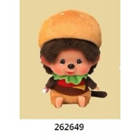Monchhichi 2020 Burger Big Head Bean Bag Sitting Boy ~ PRE-ORDER ~ 262649