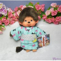 Monchhichi S Size Plush Japanese Summer Rose Flower Yukata Boy 293920