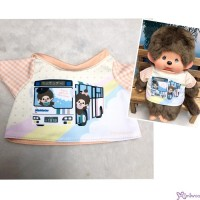 Monchhichi M Size Fashion Nishitetsu x MCC Tee Orange 754762