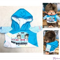Monchhichi M Size Fashion Nishitetsu x MCC Hooded Coat Blue 754779 ~ PRE-ORDER ~