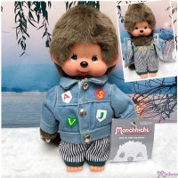 Monchhichi S Size Plush Autumn Wear Fashion Boy Jeans Jacket & Pants MC012