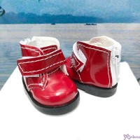Yo SD OB Male 1/6 Bjd MCC S Size Doll Shoes Short Strapped Boots Red YK10RED