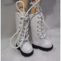 1/6 Bjd Neo B Doll Shoes Long Boots White SHP007WHE