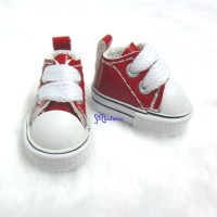 1/6 Bjd Neo B Doll PU Leather MICRO Shoes Sneaker Red SHP125RED