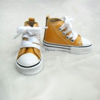 SHS140RAE SD DD bjd Doll Shoes Metallic Sneaker ORANGE