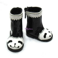 Yo-SD 1/6 bjd Dollfie Leeke Doll Shoes Panda Boots SHU047PAA