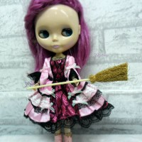 TPS041 1/6 Bjd Blythe Hujoo Doll Miniature Mini Corn Broom