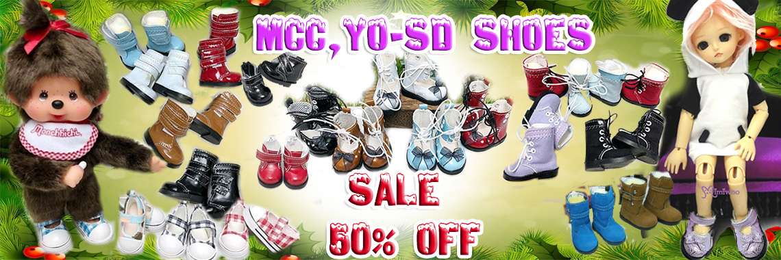 Yo-SD 4cm Doll shoes 40% OFF